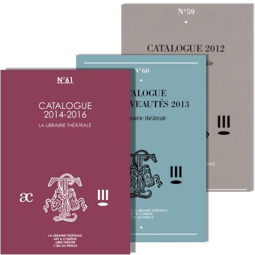 Pack Catalogues 2012 à 2016