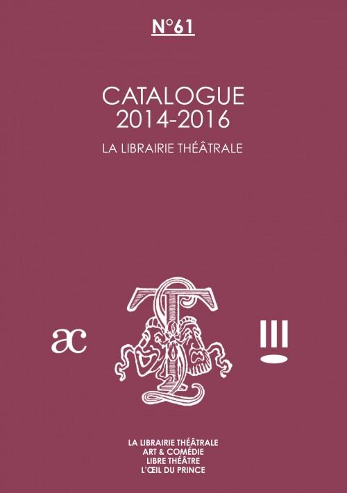Catalogue des nouveautés 2014-2016