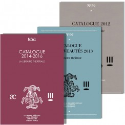Pack Catalogues 2012 à 2016