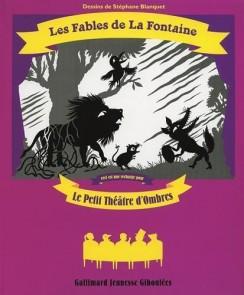 Coffret théâtre d'ombre: les fables de la fontaine  (recharge)